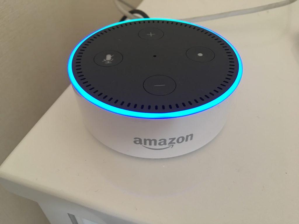Amazon Echo dot白